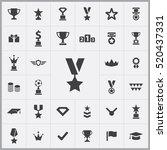award icons universal set for... | Shutterstock .eps vector #520437331