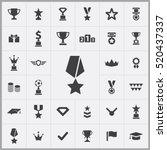 award icons universal set for...   Shutterstock .eps vector #520437337
