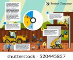 construction site. the... | Shutterstock .eps vector #520445827