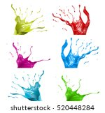 set  pack  a collection of... | Shutterstock . vector #520448284