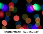 bokeh vague colorful scattered... | Shutterstock . vector #520457839