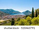 landscape of lugano lake ...   Shutterstock . vector #520463791