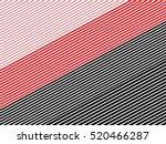 oblique  diagonal lines pattern. | Shutterstock .eps vector #520466287