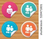 Round Stickers Or Website...