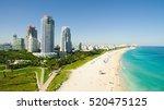 south beach  miami beach.... | Shutterstock . vector #520475125