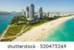 south beach  miami beach.... | Shutterstock . vector #520475269