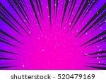 hyper speed warp sun rays or...   Shutterstock .eps vector #520479169