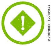 error rhombus rubber seal stamp ... | Shutterstock .eps vector #520484611