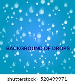 background of drops | Shutterstock .eps vector #520499971