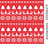 new year's christmas pattern... | Shutterstock .eps vector #520506379
