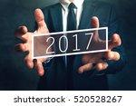 business opportunity in 2017 ... | Shutterstock . vector #520528267