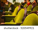 lot of empty seats in the ... | Shutterstock . vector #520549921