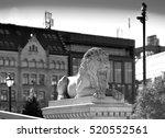 Trondheim Stone Lion Monument...