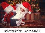 Santa Claus With A Magical...