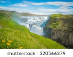 Beautiful And Famous Gullfoss...