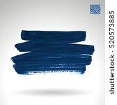 brush stroke and texture.... | Shutterstock .eps vector #520573885