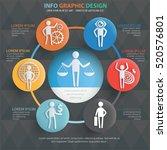 businessman character info... | Shutterstock .eps vector #520576801