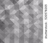 gray white grid mosaic...   Shutterstock .eps vector #520578205