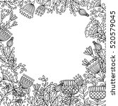 Coloring Page Design With...