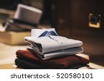 men elegant clothing | Shutterstock . vector #520580101
