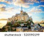 Close Up Of Mont Saint Michel...