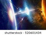fantastic background  ... | Shutterstock . vector #520601434