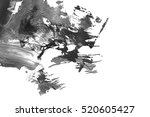 abstract ink background. marble ... | Shutterstock . vector #520605427