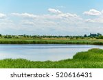 A Saline Lake Situated Next To...