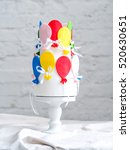 wedding cake    Shutterstock . vector #520630651