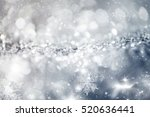 magic blue holiday abstract... | Shutterstock . vector #520636441