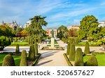 the parterre garden in the buen ... | Shutterstock . vector #520657627