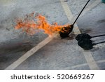 regional fire fighting exercise ... | Shutterstock . vector #520669267