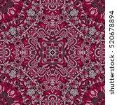 tracery seamless calming... | Shutterstock . vector #520678894