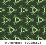 abstract geometric seamless... | Shutterstock .eps vector #520686625
