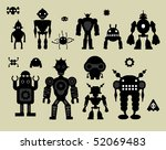 vector robot set 3