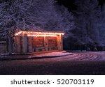 Winter Street At Night