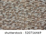 stone brick wall pattern... | Shutterstock . vector #520716469