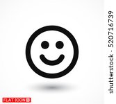 laughter vector icon | Shutterstock .eps vector #520716739