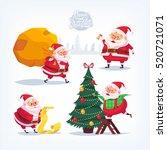 collection of cartoon vector...   Shutterstock .eps vector #520721071