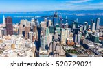 aerial view of san francisco... | Shutterstock . vector #520729021