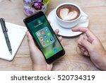 chiang mai  thailand   november ... | Shutterstock . vector #520734319