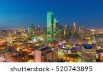 city of dallas | Shutterstock . vector #520743895