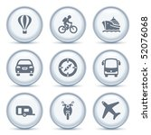 gray button with icon 20   Shutterstock .eps vector #52076068