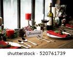 Christmas Family Dinner Table...