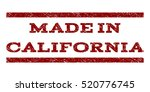 made in california watermark... | Shutterstock .eps vector #520776745