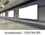 blank billboard located in...   Shutterstock . vector #520796785