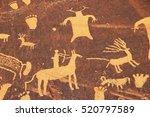 Indian Petroglyphs  Newspaper...