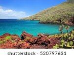 shoreline of rabida island in...   Shutterstock . vector #520797631