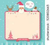 christmas and new year...   Shutterstock .eps vector #520802665