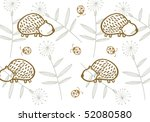 hedgehog pattern | Shutterstock . vector #52080580